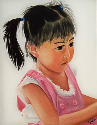 Painting - China Doll 2 by Joni McPherson