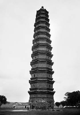Photograph - China: Iron Pagoda, C1912 by Granger