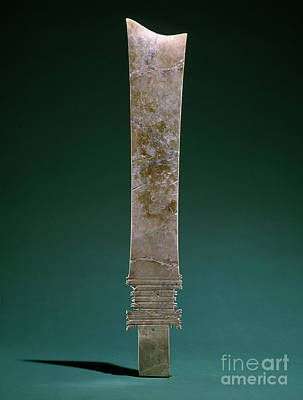 Photograph - China: Jade Blade by Granger