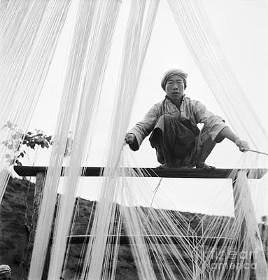 Photograph - China, Noodle, C1944.  by Granger