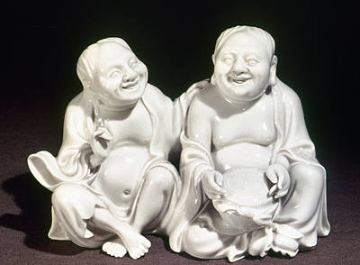 Ching Dynasty Photograph - China: Porcelain Figures by Granger