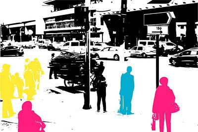 Digital Art - China by Ruediger Grimm
