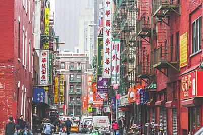 Photograph - China Town by Jimmy McDonald