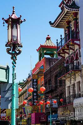 Photograph - China Town by Judy Wolinsky