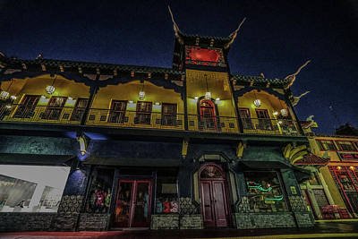 Photograph - China Town L.a. Wild Wild West In A Neon World 2 by Kenneth James