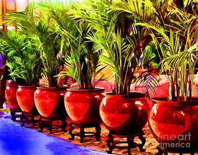 Photograph - China Vases by Rick Bragan