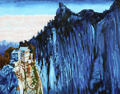Painting - China's Mountains 3 by John Lautermilch