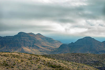 Photograph - Chinati Peak Texas by SR Green