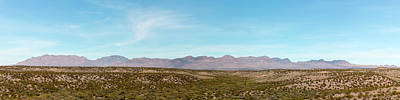 Photograph - Chinati Range Panorama by SR Green