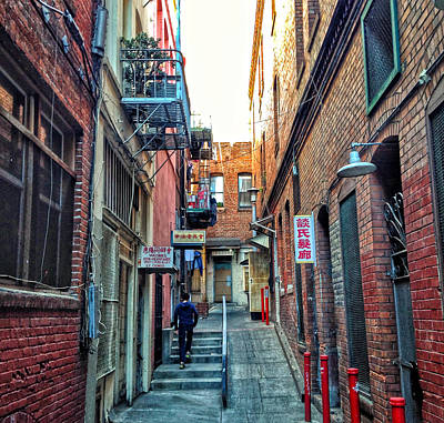 Photograph - Chinatown Alley by Dan Reich