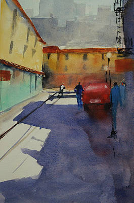 Painting - Chinatown Alley by Tom Simmons