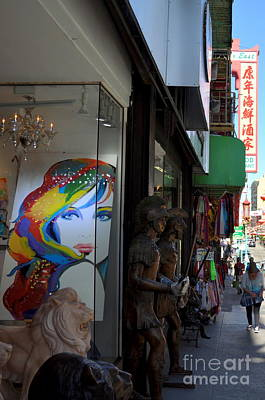 Photograph - Chinatown by Anjanette Douglas