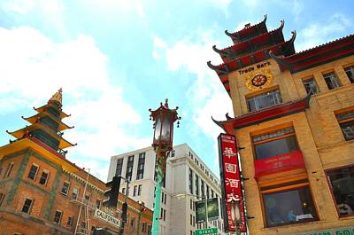 Photograph - Chinatown Architecture by Andrew Dinh