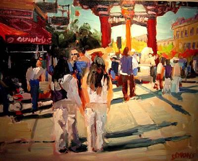 Chinatown Art Print by Brian Simons