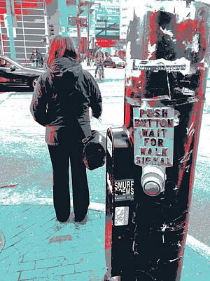 Chinatown Crosswalk Art Print