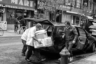 Photograph - Chinatown Delivery by Vinnie Oakes