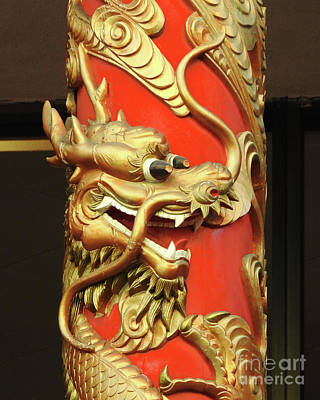 Photograph - Chinatown Dragon No.1 by Scott Cameron