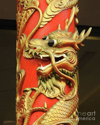 Photograph - Chinatown Dragon No.2 by Scott Cameron