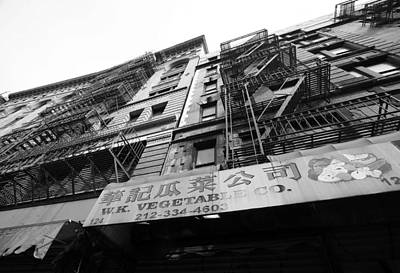 Photograph - Chinatown Facade by Mary Haber