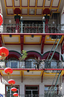 Photograph - Chinatown In San Francisco California 7d7423 by San Francisco