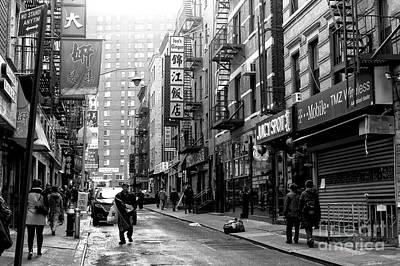 Photograph - Chinatown Light by John Rizzuto