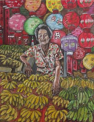 Painting - Chinatown Market by Kim Selig