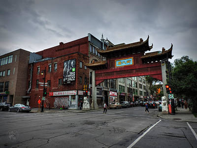 Photograph - Chinatown Montreal 001 by Lance Vaughn