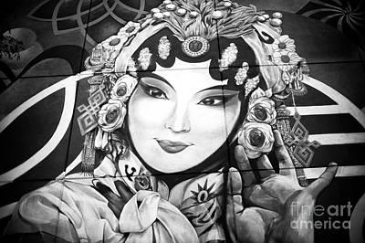 Photograph - Chinatown Mural by John Rizzuto