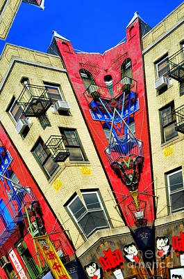Photograph - Chinatown New York City by Mark Gilman