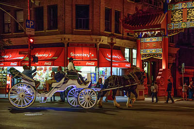 Photograph - Chinatown Night by Keith Boone