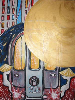 Painting - Chinatown Ny by Krisztina Asztalos