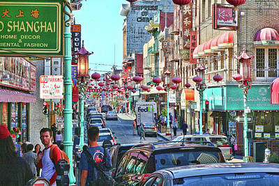 Photograph - Chinatown San Francisco by Debby Richards