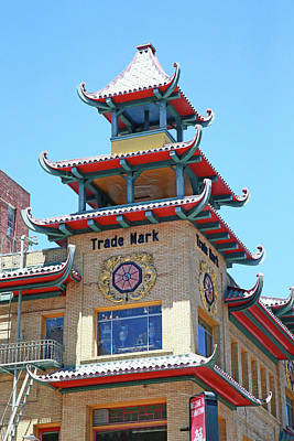 Photograph - Chinatown Trade Mark by Shoal Hollingsworth