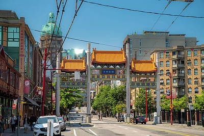 Photograph - Chinatown Vancouver by Ross G Strachan