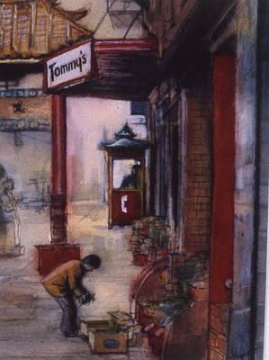Chinatown Victoria Art Print by Victoria Heryet