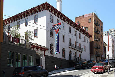 Photograph - Chinatown Ymca In San Francisco California 7d7413 by San Francisco