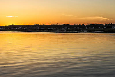 Photograph - Chincoteague Bay At Sunset by Belinda Greb