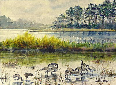 Painting - Chincoteague by Bill Hudson