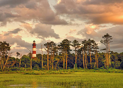 Photograph - Chincoteague Lighthouse by David Kay
