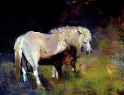 Chincoteague Pony Art Print by Xx X