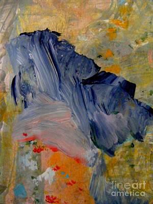 Painting - Chinese Blue by Nancy Kane Chapman