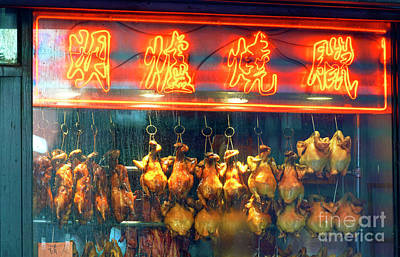 Photograph - Chinese Chicken New York City by John Rizzuto