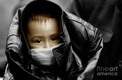 Photograph - Chinese Child - Kunming by Craig Lovell