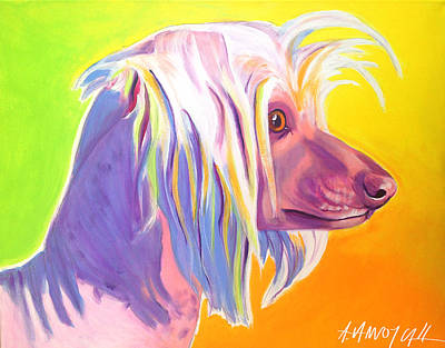 Chinese Crested - Nathan's Profile Original by Alicia VanNoy Call