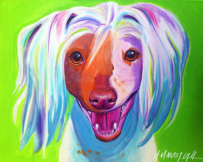 Chinese Crested - Nathan's Smile Original by Alicia VanNoy Call