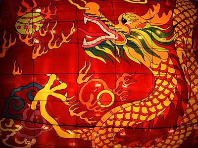 Photograph - Chinese Dragon by Nadalyn Larsen