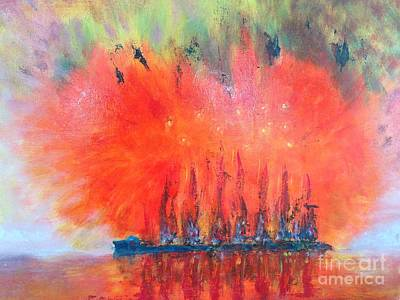 Painting - Chinese Firecracker by Paul Galante