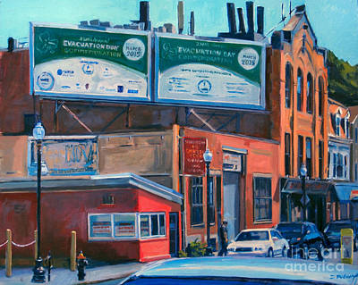 South Boston Painting - Chinese Food by Deb Putnam