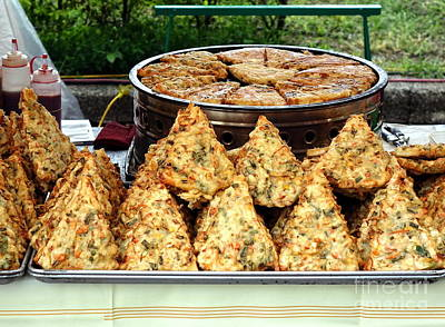 Photograph - Chinese Fried Pancakes by Yali Shi