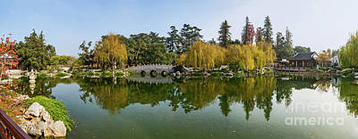 San Marino Photograph - Chinese Garden At The Huntington Library. by Jamie Pham